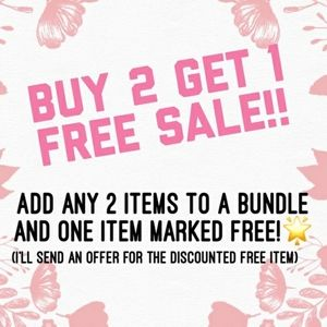 Buy 3 and get an item free